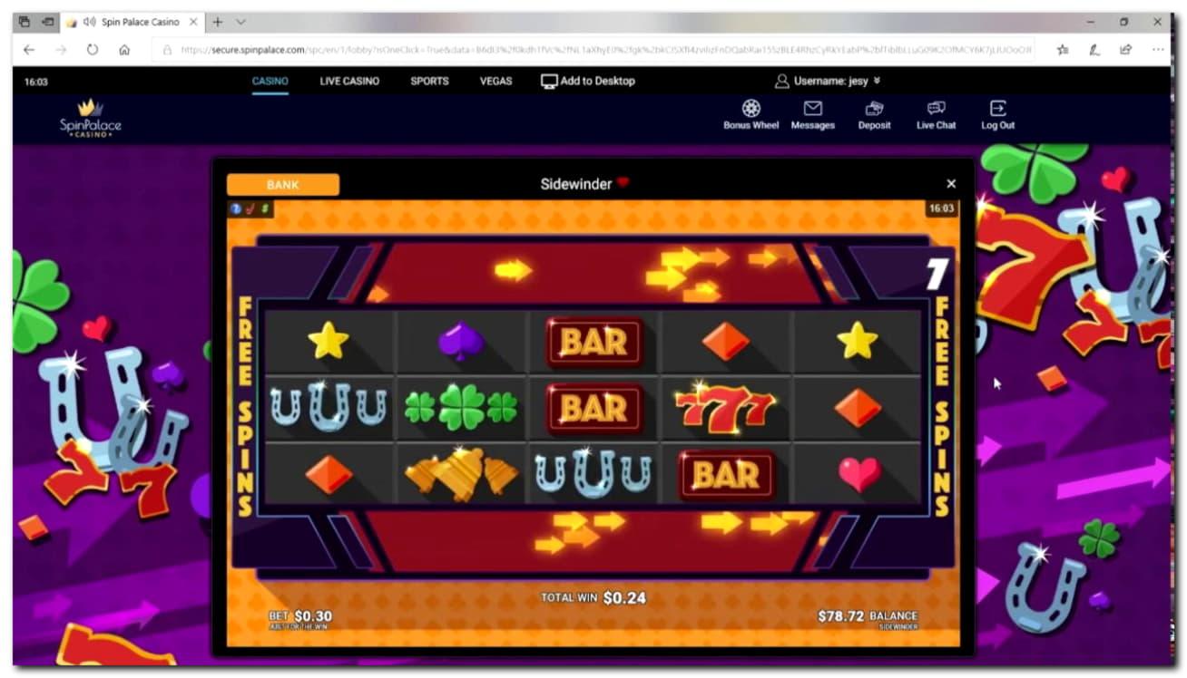 135 Gratis spins casino bij Party Casino